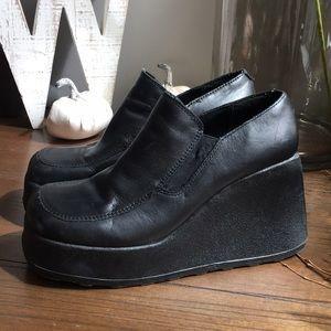 Steve Madden Moshi Platform Shoes Size 9